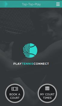PlayTennisConnect Club Edition poster