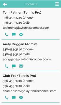 PlayTennisConnect Club Edition screenshot 3