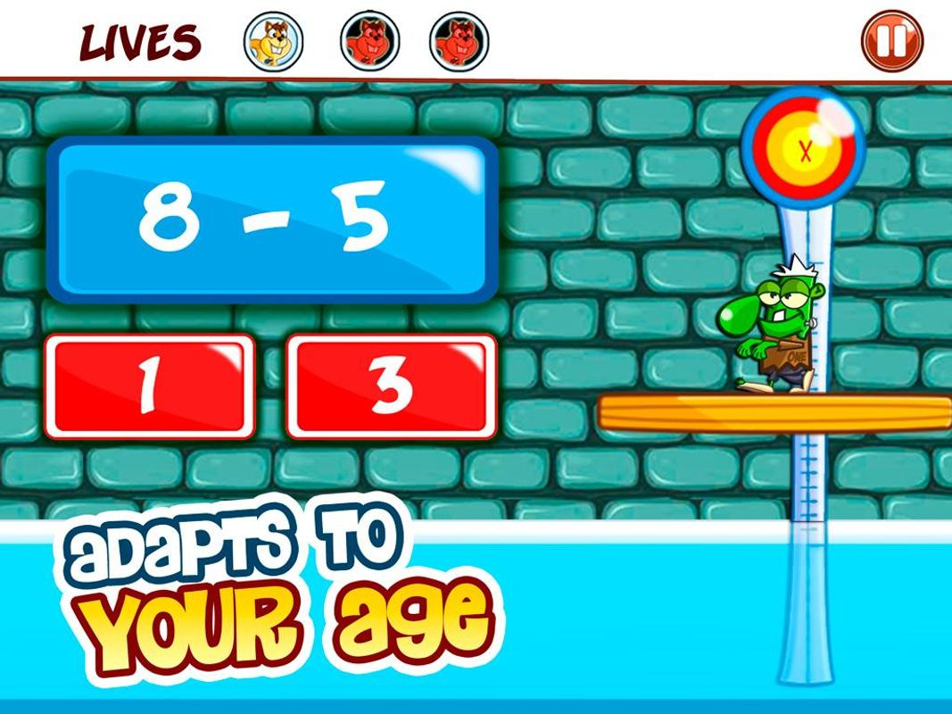 Basic Math Games for kids: Addition Subtraction for Android - APK ...