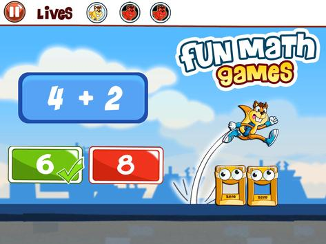Basic Math Games for kids: Addition Subtraction screenshot 8