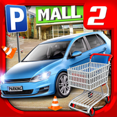 Shopping Mall Car Driving 2 icon