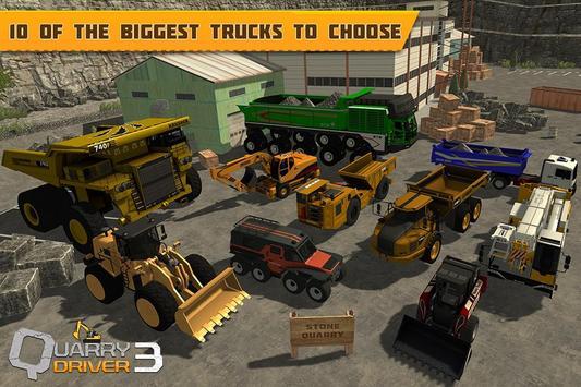 Quarry Driver 3: Giant Trucks poster