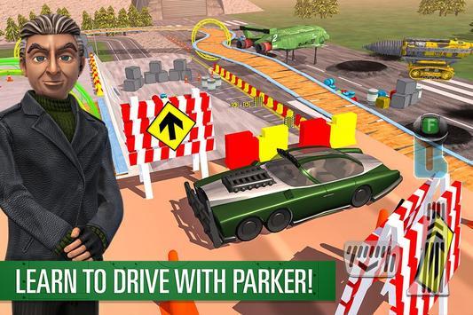 Parker's Driving Challenge poster