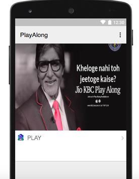 Play along jio Free Crorepati Guide poster