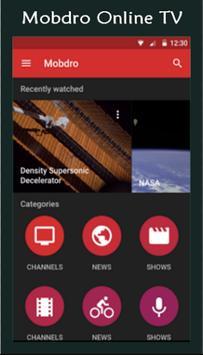 Pro Mobdro Online Tv Guide apk screenshot