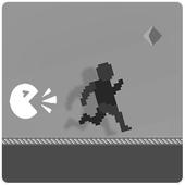 Scream Man Infinite Runner F1 icon