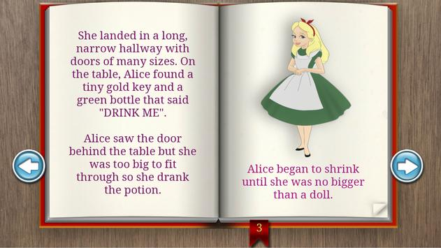 Alice In Wonderland Books apk screenshot