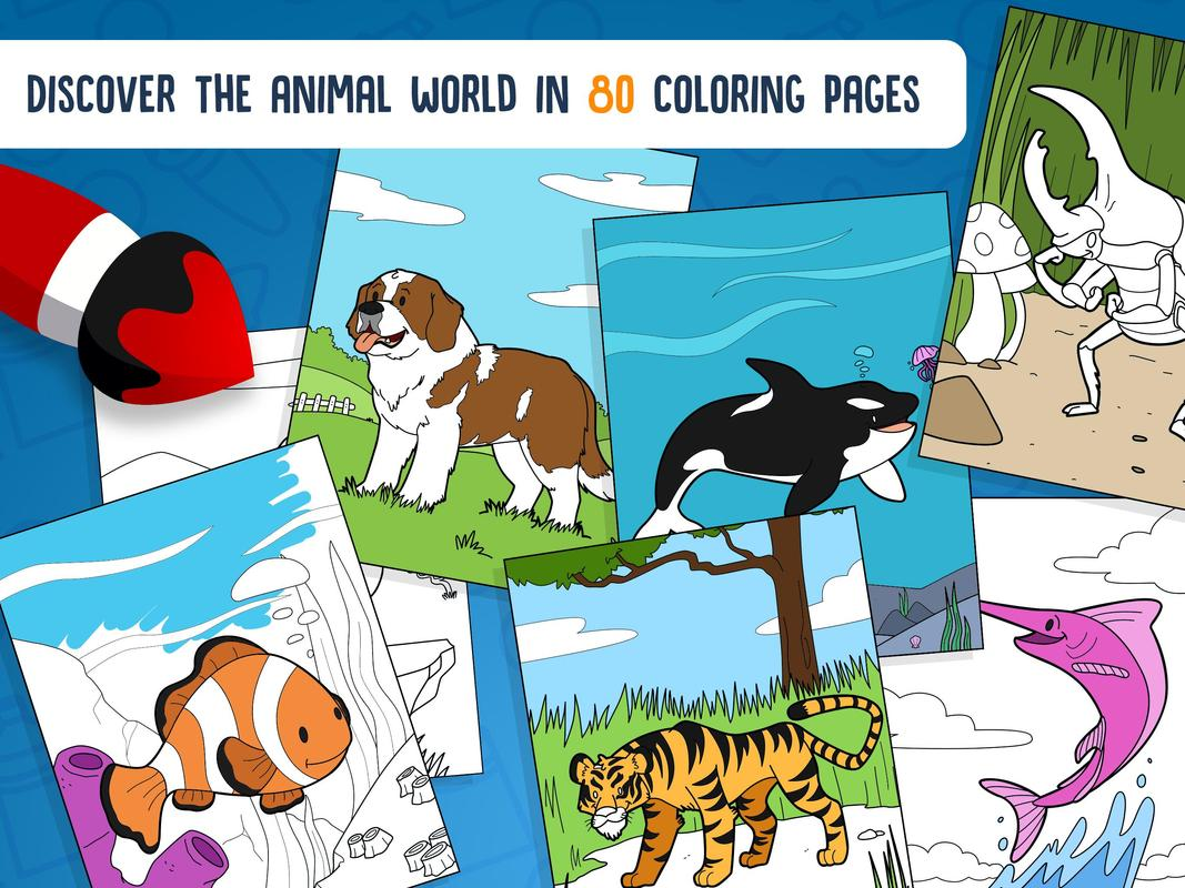 Playcell colorea animales for Android - APK Download
