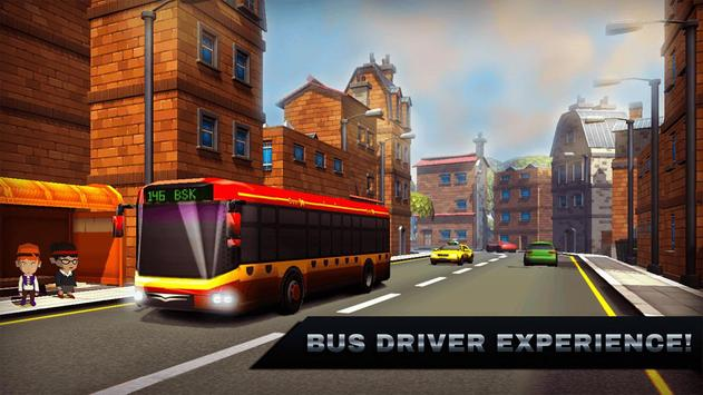 New York City Bus Simulator 3D poster