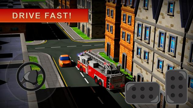 Fireman Rescue: Driving Game apk screenshot