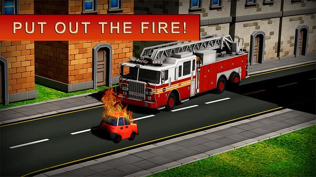 Fireman Rescue: Driving Game poster