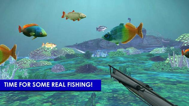 Scuba Fishing: Spearfishing 3D الملصق