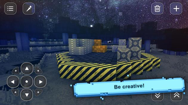 Space Craft: Planeet Crafting en Bouwen APK-screenhot