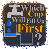 Which cup will fill-up first ? icon