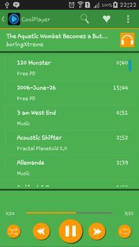 CoolPlayer greenorange theme screenshot 6