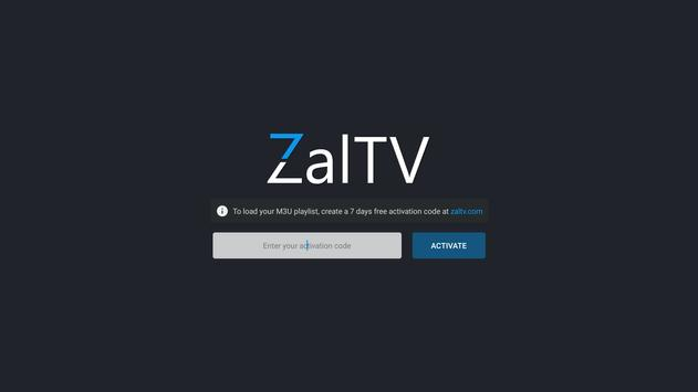 ZalTV IPTV Player poster