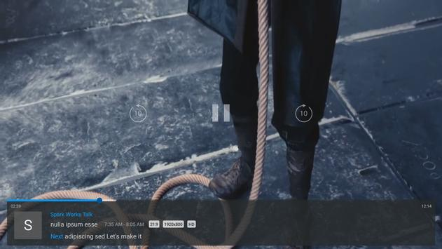 ZalTV IPTV Player apk screenshot