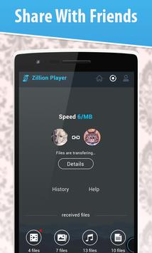 ZiIIion Player - Music & Video apk screenshot