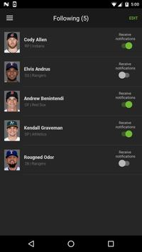 Fantasy Baseball News apk screenshot