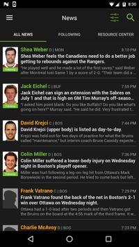 Fantasy Hockey News screenshot 1