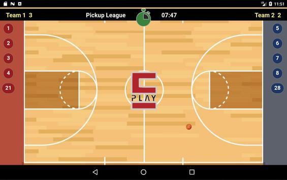 EPlay Statistician - Basketball apk screenshot