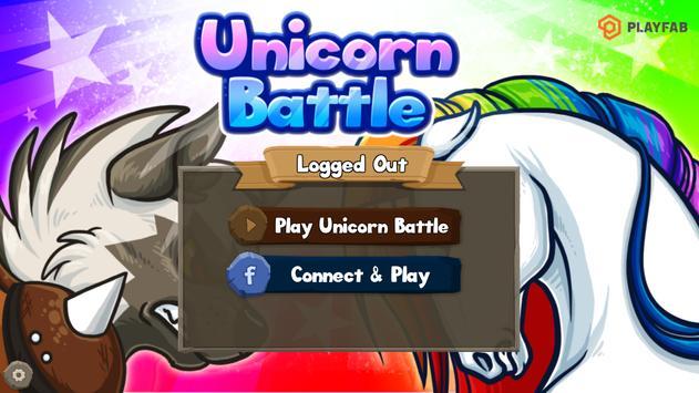 Unicorn Battle poster