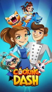 COOKING DASH poster