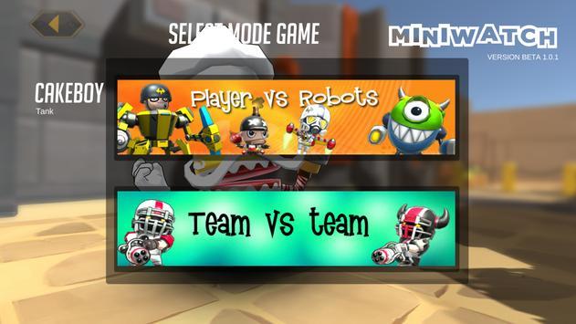MiniWatch: Warfare Multiplayer apk screenshot