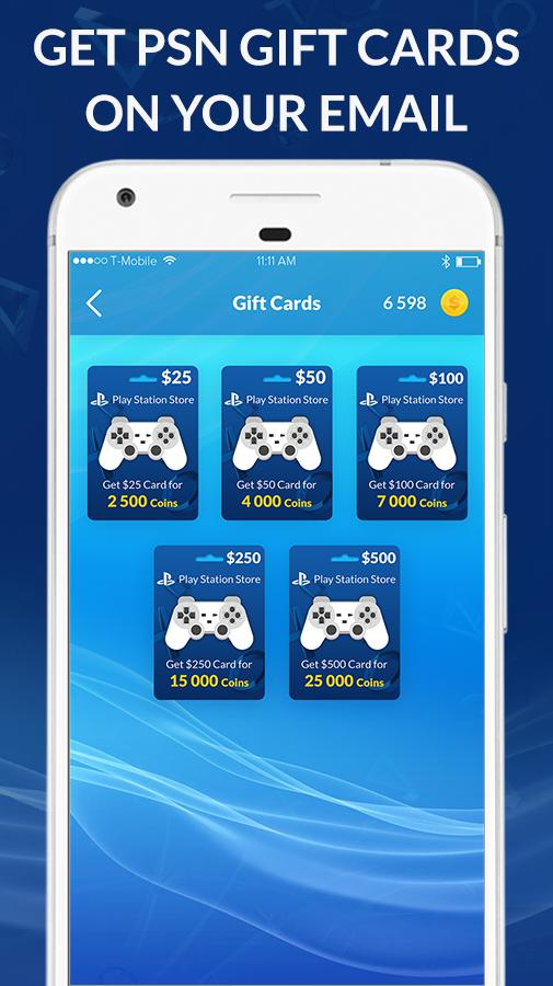 free gift card generator ps4