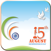 Happy Independence Day 15 August Live Wallpaper icon