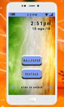 Happy Independence Day 15 August Live Wallpaper poster