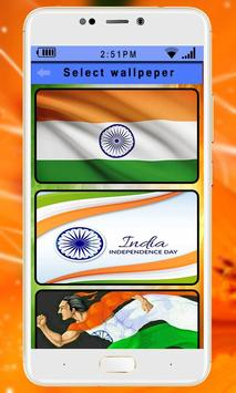 Happy Independence Day 15 August Live Wallpaper screenshot 2