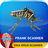 Zika Virus Scanner Prank Test icon
