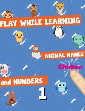 Bubble For Kids: Animal screenshot 4