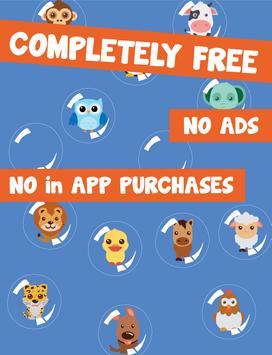Bubble For Kids: Animal screenshot 5