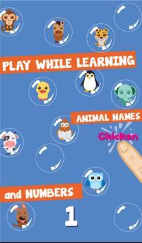 Bubble For Kids: Animal screenshot 1