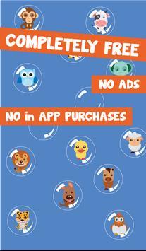 Bubble For Kids: Animal screenshot 2