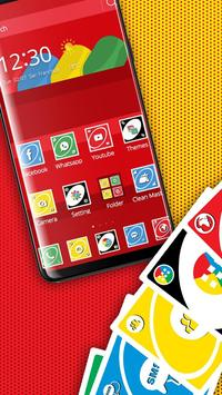 Red Funny Card Theme screenshot 1