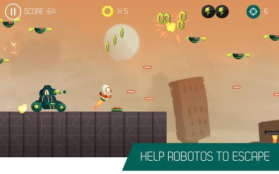 Roboto Go! apk screenshot