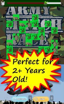 Free Army Game for Kids Match apk screenshot