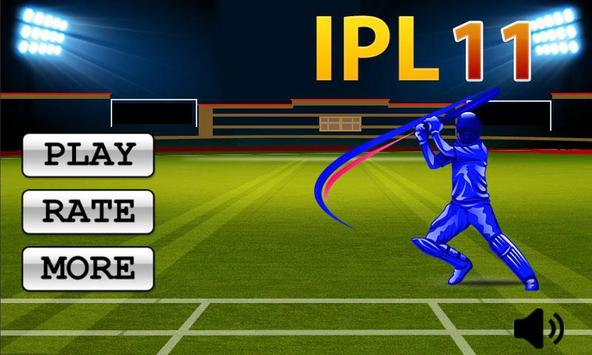Play IPL Cricket Game 2018 poster