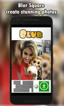 Blur Square Photo Editor poster