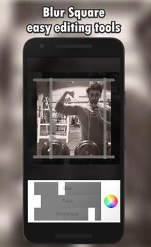 Blur Square Photo Editor apk screenshot