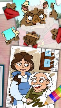 Beauty and the Beast story apk screenshot