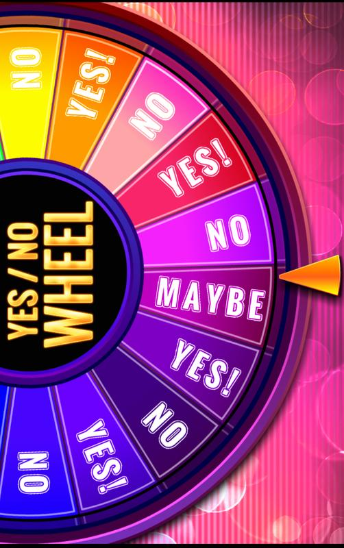 Yes / No Wheel Para Android