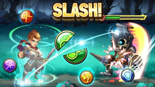 Slash Saga - Swipe Card RPG poster