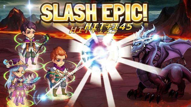 Slash Saga - Swipe Card RPG apk screenshot