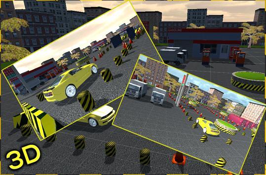 taxi car parking 2016 game poster