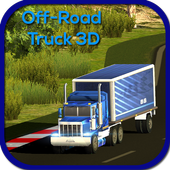 hill climb real truck driving icon
