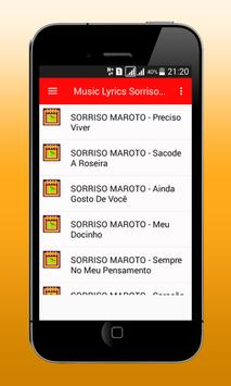 Sorriso M Songs apk screenshot